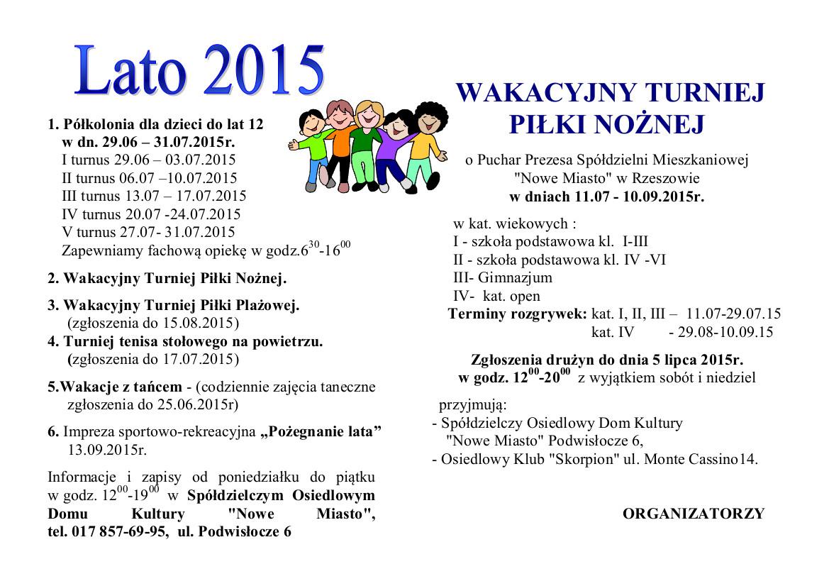 Lato 2015
